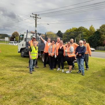 Tatau Pounamu team and Rotorua East Lions